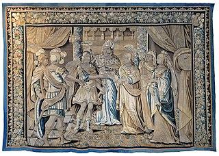scènes de mariage, Eliézer et Rébecca