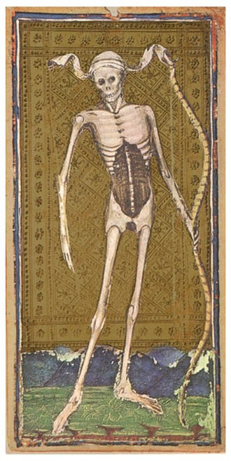 Death (Tarot card) - Death, Visconti-Sforza tarot deck