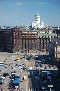 Kluuvi Helsinki Subdivision in Uusimaa, Finland