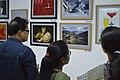 Visitors At Inaugural Day - 45th PAD Group Exhibition - Kolkata 2019-06-01 1572.JPG