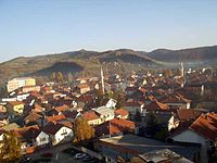 November 11: Old district of Visoko today: In November 1911 it was almost completely destroyed by fire.