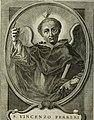 Vita di S. Vincenzo Ferrerio dell' Ordine de Predicatori, e storia del suo culto (1740) (14742754236).jpg