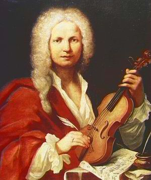 Supposed portrait of Antonio Vivaldi. Author a...