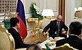 Vladimir Putin and Gurbanguly Berdimuhamedow (2017-10-02) 09.jpg