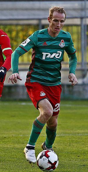 Vladislav Ignatyev - Ignatyev with Lokomotiv in 2016