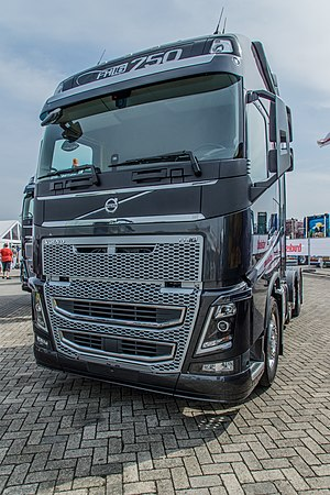 Volvo Trucks - A 2013 model Volvo FH16. The Volvo FH series was introduced in 1993 and is Volvo Trucks' most commercially successful truck.