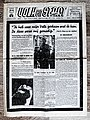 """Voorpagina """"Volk En staat"""" 24 oktober 1942 over overlijden VNV leider Staf Declercq.jpg"""