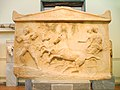 Votive amphiglyphon with the abduction of Basile by Echelos - NAMA 1783.JPG