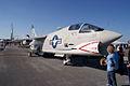 Vought F-8K Crusader 146985 RSideFront TICO 13March2010 (14412879720).jpg