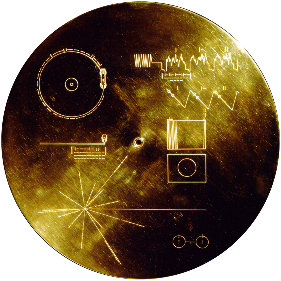 Voyager Golden Record fx