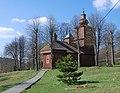 Vyšný Komárnik, cerkiew Świętych Kosmy i Damiana (HB5).jpg