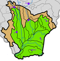 Vychodoslovenska nizina subdivisions.png