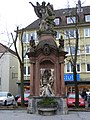 Würzburg, Hofstr. - Statuen.JPG