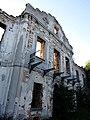 Włodowice, ruiny pałacu.JPG