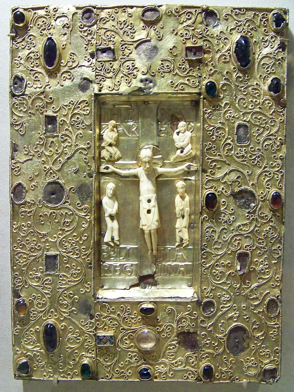 WLA metmuseum Book Cover with Byzantine Icon of the Crucifixion 6