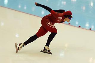 Yu Jing Chinese speed skater