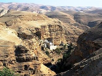 Wadi Qelt - St. George's Monastery, Wadi Qelt