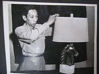 Wah Chang - Image: Wah Chang with Lamp Sculpture