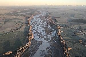 Braided river - Image: Waimakariri 03 gobeirne