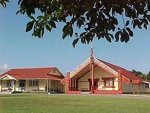 Waitara, New Zealand - Owae Marae, Waitara.
