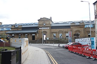 Wakefield Kirkgate railway station Railway station in West Yorkshire, England