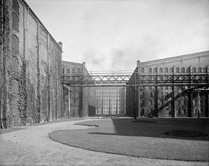 Walkerville, Ontario - Distillery buildings in Walkerville circa 1910