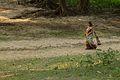 Walking Woman - Chandraketugarh - Berachampa - North 24 Parganas 2015-04-11 7311.JPG