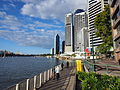 Walkway next to the Brisbane River July 2014.jpg