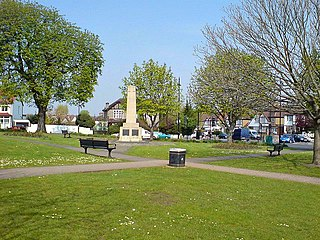 town in the London Borough of Sutton, Greater London, England