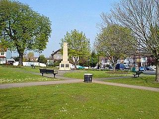 Wallington, London Human settlement in England