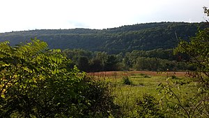 Wallpack Ridge - Image: Wallpack Ridge from Mountain Road in Walpack Township New Jersey