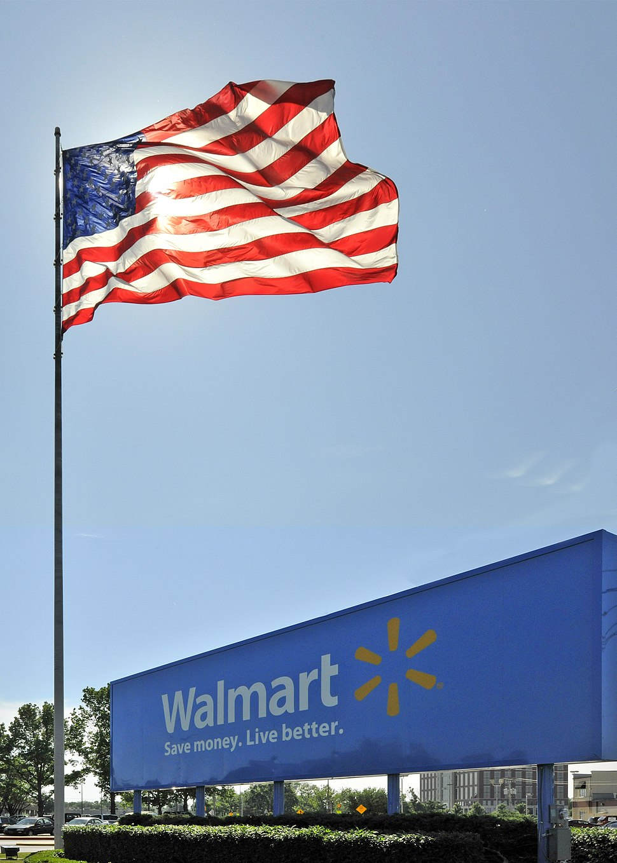 Walmart Home Office sign