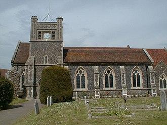 Walton, Suffolk - Image: Walton Church geograph.org.uk 13295