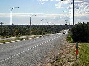 Wanneroo Road - Image: Wanneroo Road 352 N Nowergup One Tree Hill