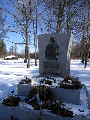 20th Waffen Grenadier Division of the SS (1st Estonian) - The Monument of Lihula