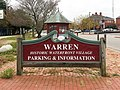 Warren Rhode Island Historic Waterfront Village sign.jpg