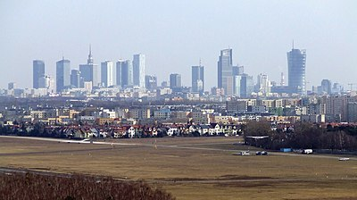 Warsaw, the capital and largest city of Poland