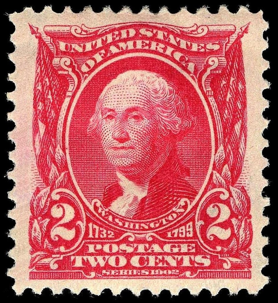 Washington stamp 2c 1903 issue