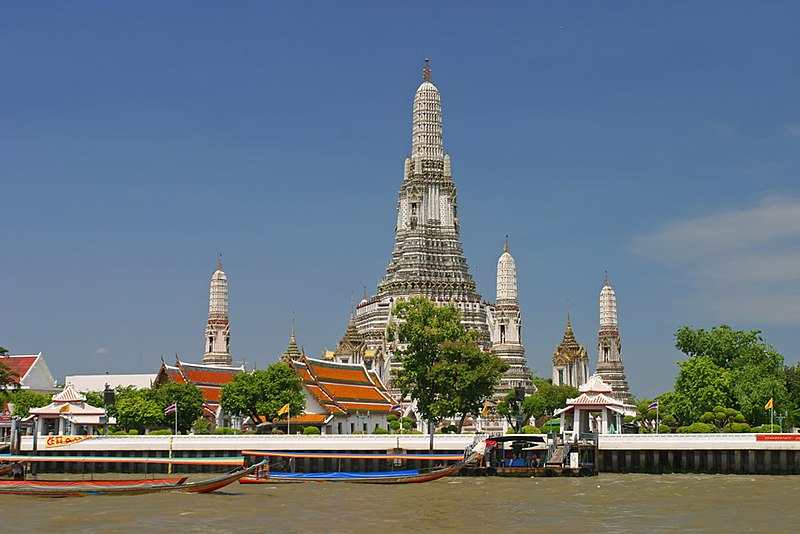 Wonderful Places in Asia: Wat Arun - Bangkok