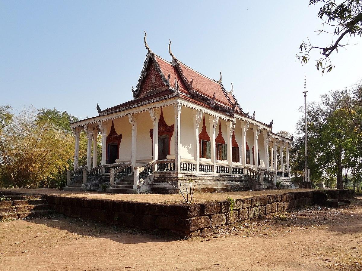 Wat Kampong Tralach Loeu Wikipedia