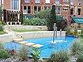 Water feature, Mandela Gardens, Leeds - DSC07704.JPG