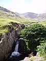 Waterfall Greenburn Beck - geograph.org.uk - 213374.jpg
