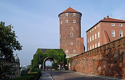 Wawel Hill, Gate of the Bernardines, Old Town, Kraków, Poland.jpg