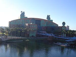 Walt Disney World Swan - Image: Wdw swan hotel