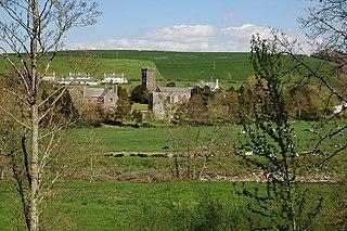 Weare Giffard Village, civil parish and former manor in Devon, England