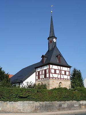 Weidhausen - Protestant church