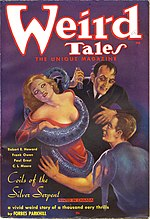 Weird Tales cover image for February 1936