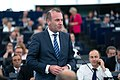 Welcome speech of Manfred WEBER on behalf of the European People's Party (EPP) group (48188712246).jpg