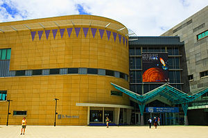 """Te Papa (""""Our Place""""), the Museum of New Zealand."""