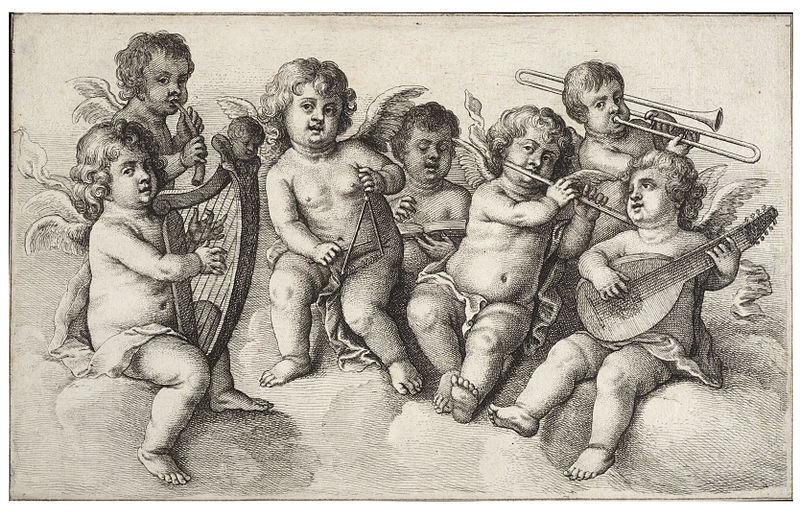 File:Wenceslas Hollar - Concert of cherubs in the clouds.jpg